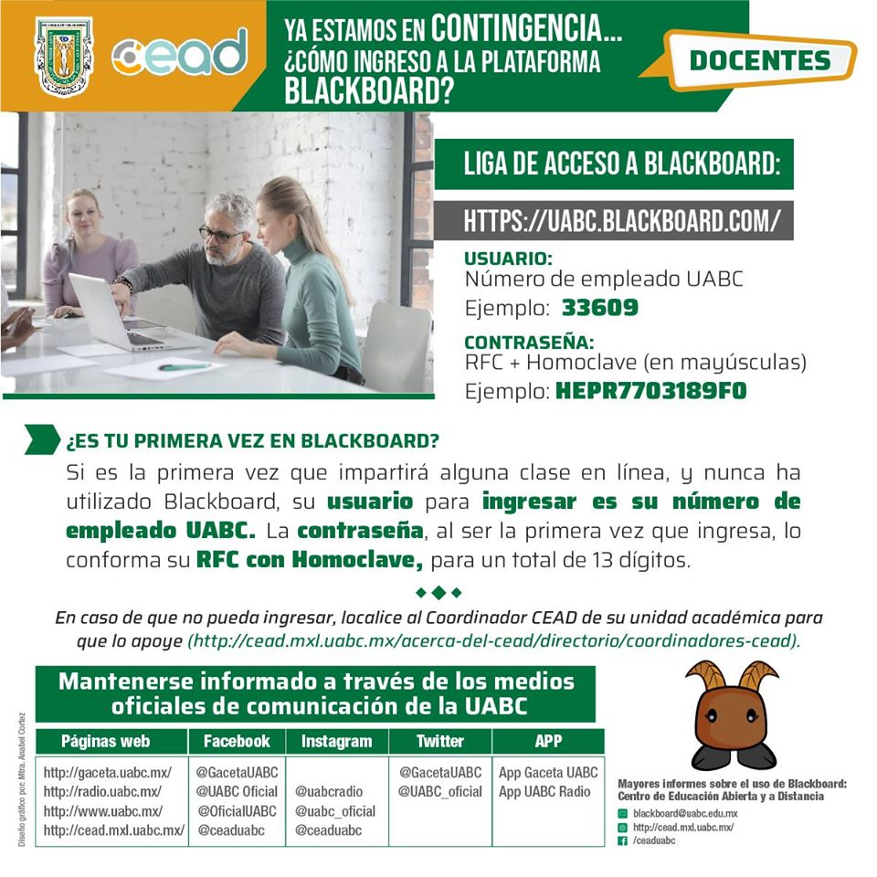 Acceso Bb Docentes